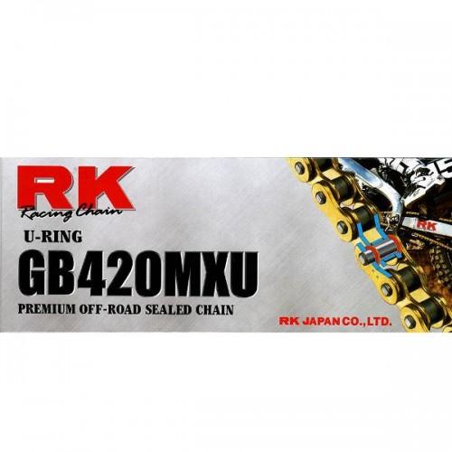 RK 420MXU x 136L MX U Ring Chain Gold