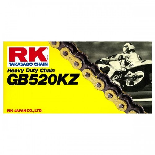 RK 520KZ x 120L Race Chain Gold