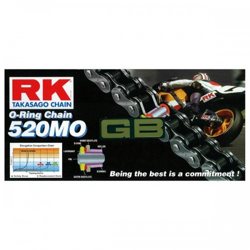 RK 520MO x 120L O Ring Chain