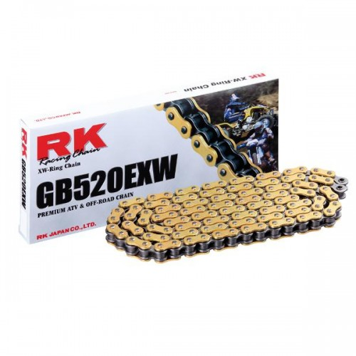 RK 520EXW x 120L XW Ring Enduro Gold