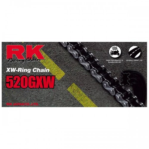 RK 520GXW x 124L XW Ring Chain RL