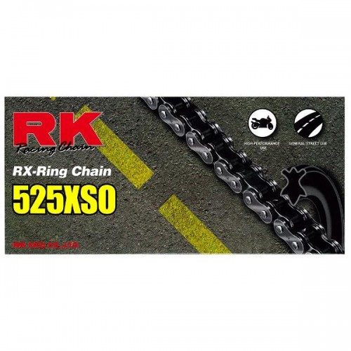 RK 525XSO x 124L X Ring Chain RL