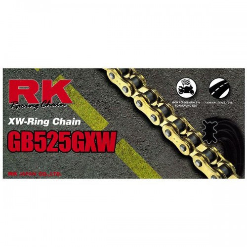 RK 525GXW x 120L XW Ring Chain Gold RL