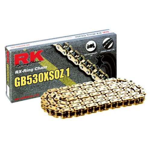 RK 530XSO x 124L X Ring Chain Gold RL