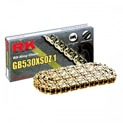 RK 530XSO x 120L X Ring Chain Gold RL