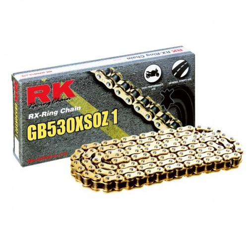 RK 530XSO x 114L X Ring Chain Gold RL