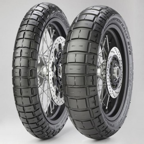 120/70R-19 SCORPION RALLY STR TL 60V FR
