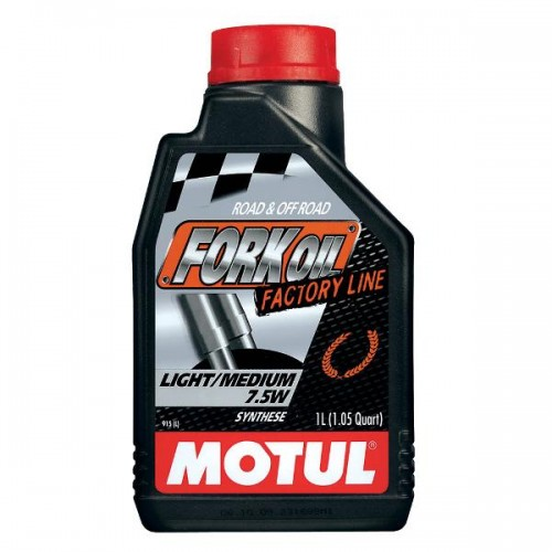 MOTUL Fork Oil Factory Medium 7.5W 1L