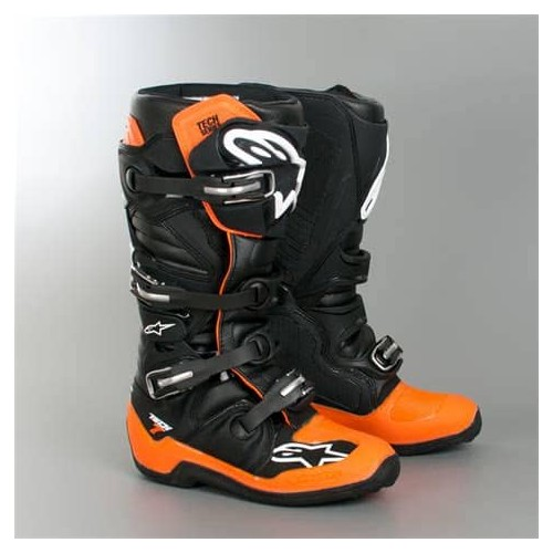 Alpine Star TECH 7 BOOT Black Orange White