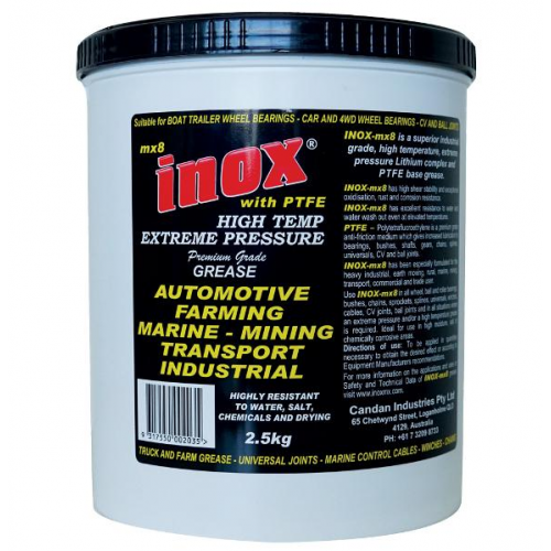 INOX Grease MX8 2.5kg Tub