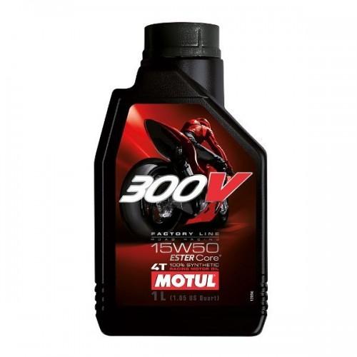 MOTUL 300V 4T 100% ESTER SYNT 1L (15W50)