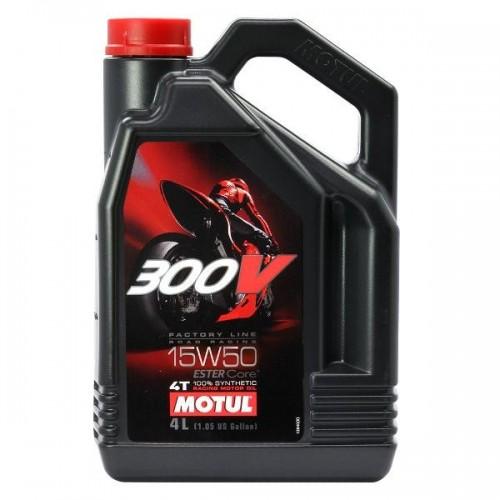 MOTUL 300V 4T 100% ESTER SYNT 4L (15W50)