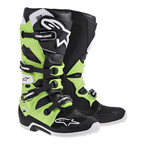 AlpineStars TECH 7 BOOT Black/Green