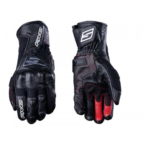 FIVE RFX4 AIRFLOW BLACK RACING GLOVE
