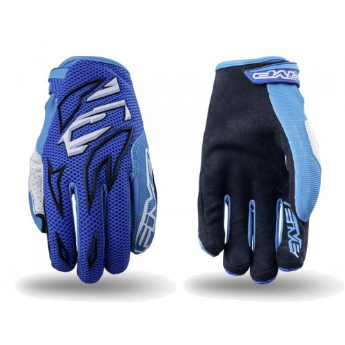 Five MXF-3  MX Glove BLUE