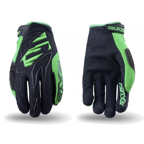 Five MXF-3  MX Glove GREEN