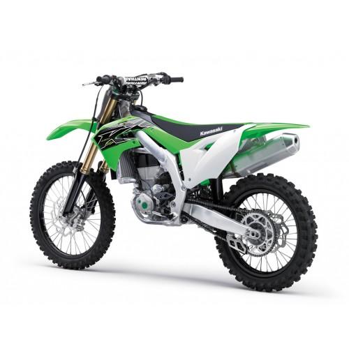 2019 KX450, LIGHT & FASTER 450cc MOTOCROSSER